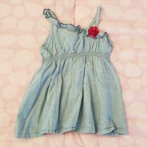 Crazy 8 Baby Girl Denim Dress Size 12-18 months